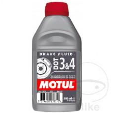 Płyn hamulcowy Motul DOT3&4 syntetyczny